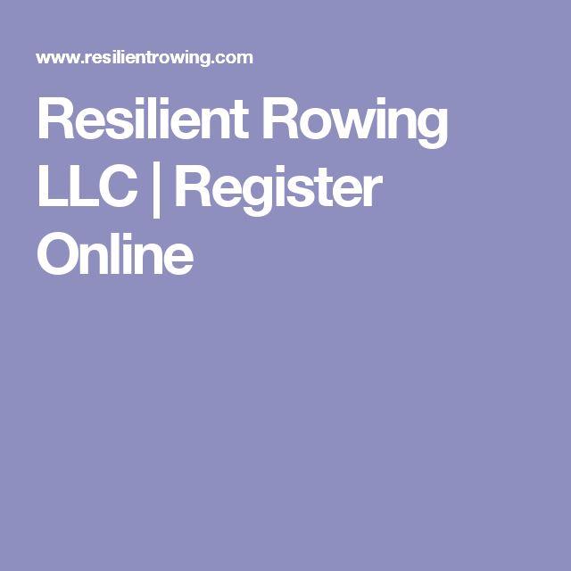 Resilient Rowing LLC | Register Online