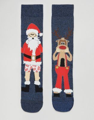 ASOS Christmas Socks With Santa