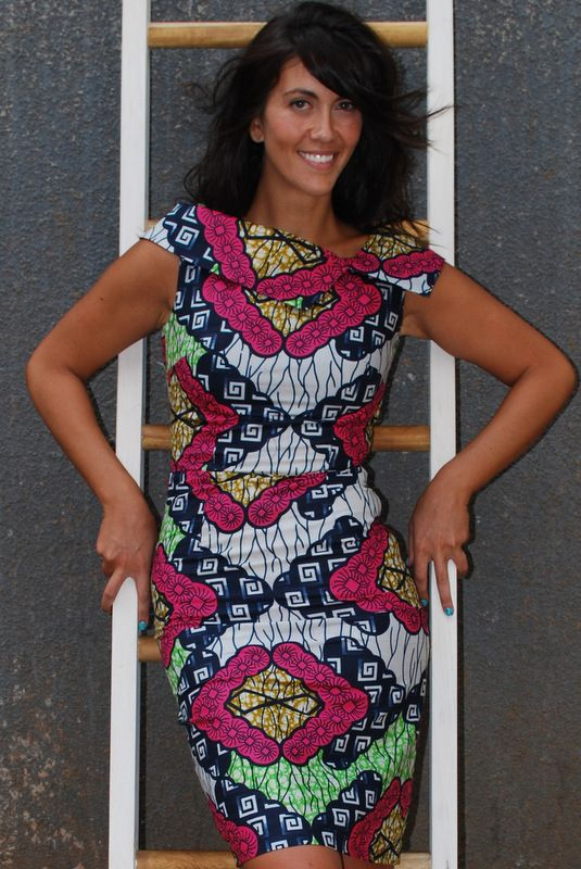 #AfricanPrint Uganda Doris Dress