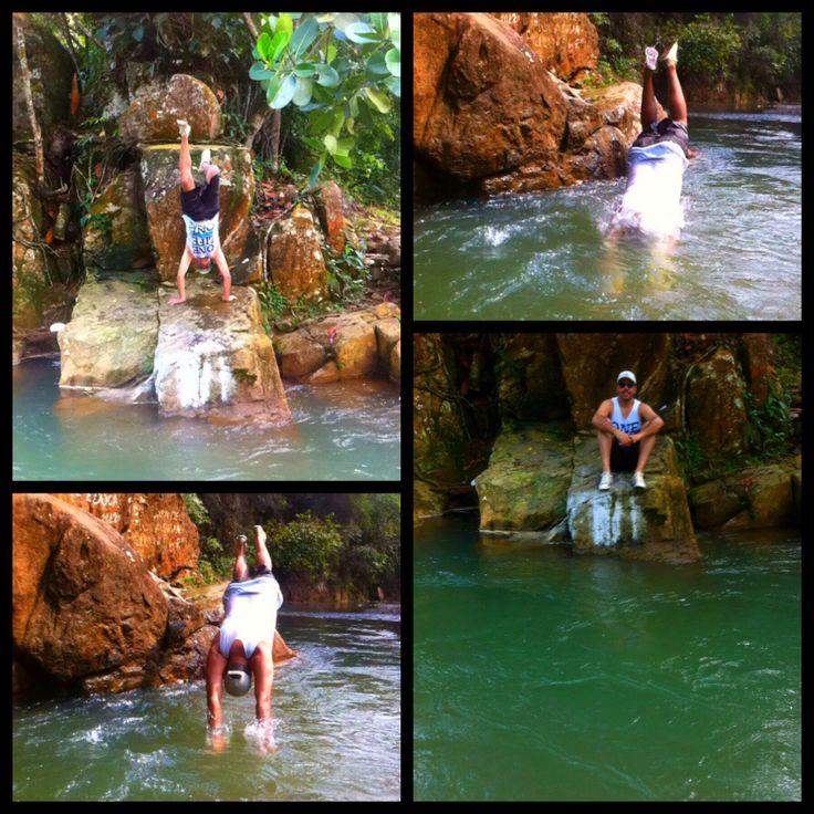 Río Blanco, unos colores que atraen al turista.