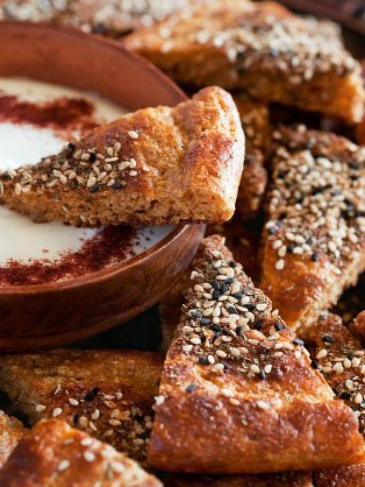 This week's Shabbat Menu features Zaatar Flat Bread - oh yeah!!