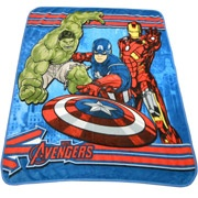 "Marvel The Avengers 50"" x 60"" Throw"