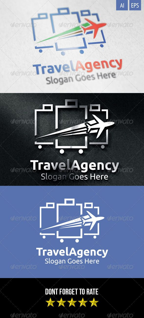 Graphicriver Travel Agency Business Card Design Template