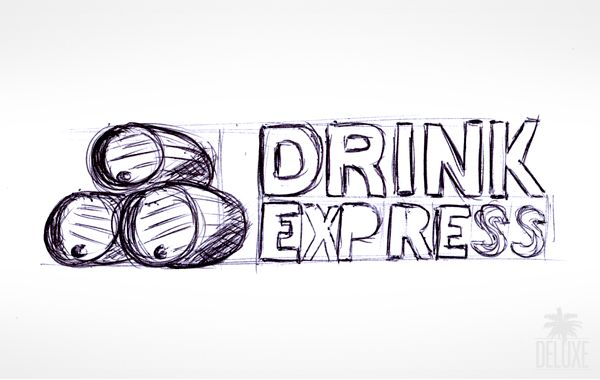 Logo realised for Drink Express