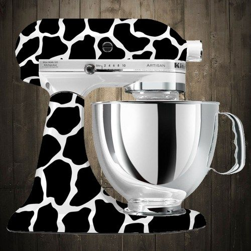 Charmant Giraffe Kitchen Aid Decal