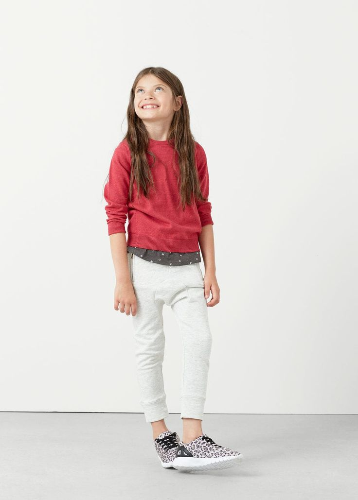 Cotton sweater | MANGO KIDS