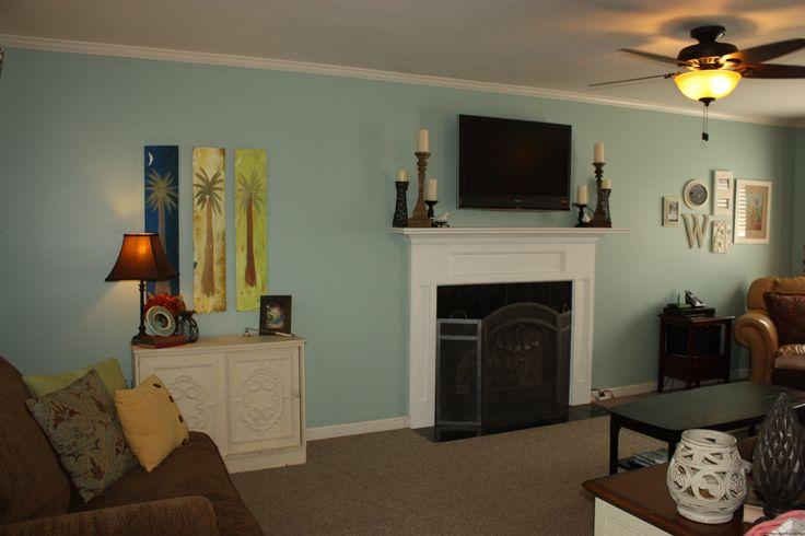 Bedroom Color: Valspar's Glass Tile