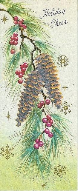 My grandmother would get Christmas cards from all over the world ~ we would sit for hours and look at them ~