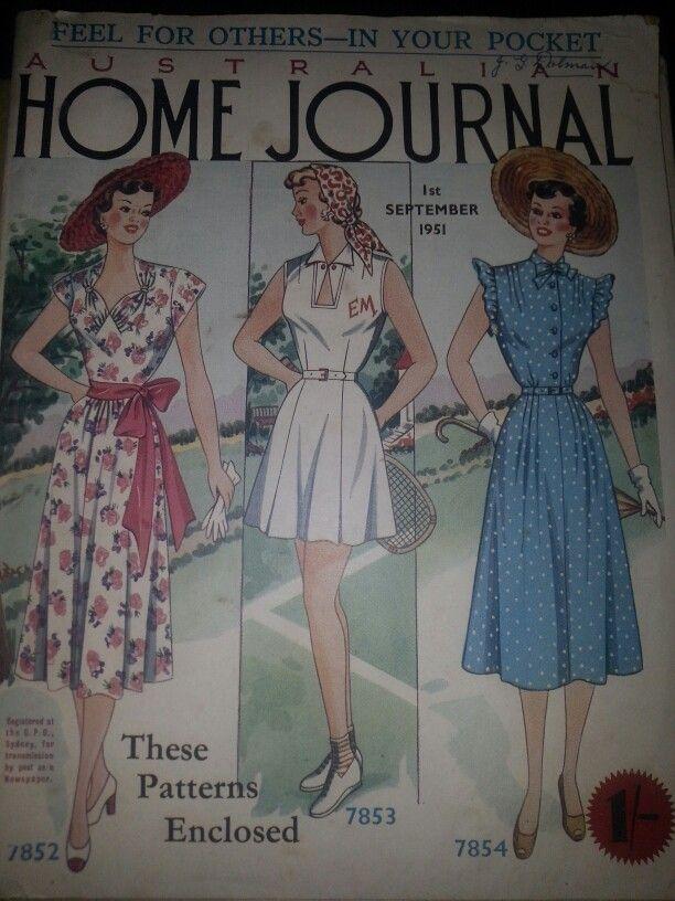 Australian home journal September 1951 cover
