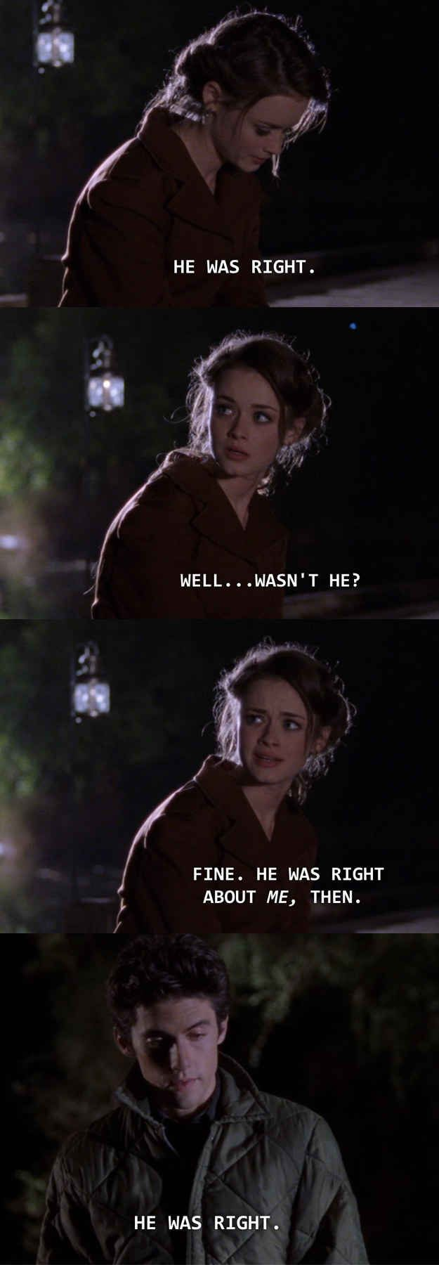 """23 Rory And Jess Moments From """"Gilmore Girls"""" That Will Make Your Heart Explode (BuzzFeed): I shipped it before I knew what shipping was."""