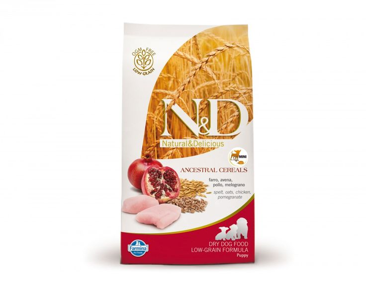 #N&D Low Grain Chicken & Pomegranate Puppy Mini #DryDogTreats Online at #Petwish in India