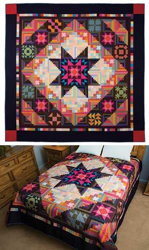 AMISH WITH TWIST II BLOCK OF THE MONTH (I'm 1/2 way done!!!)
