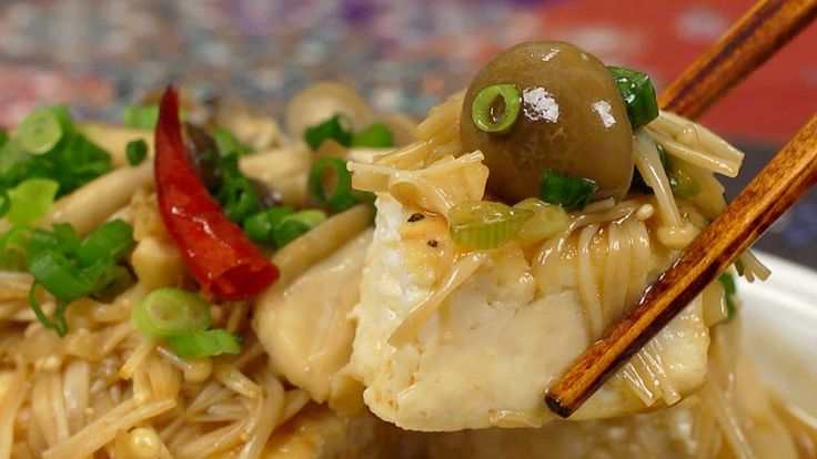 Tofu Steak with Mushroom Sauce Recipe 豆腐ステーキキノコソース 作り方レシピ