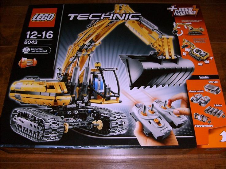 NEW LEGO  Technic 8043 Motorized Excavator NEW! LATEST MODEL 2013!!