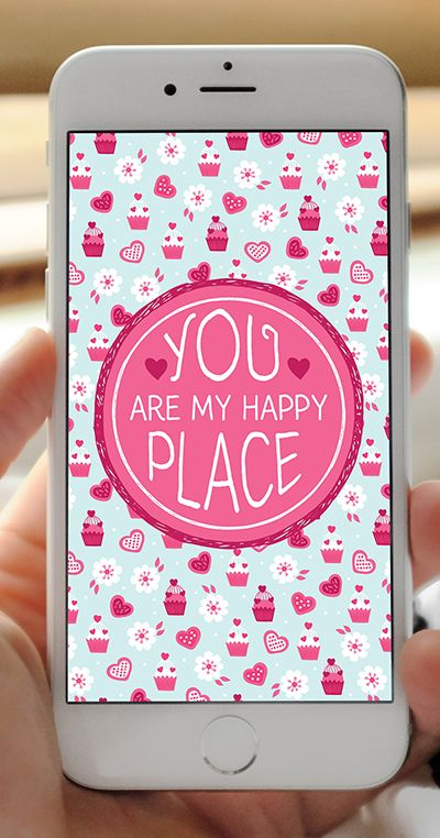 FREE Valentine's Day Inspirational Love Quotes Phone Wallpapers - Set of 12