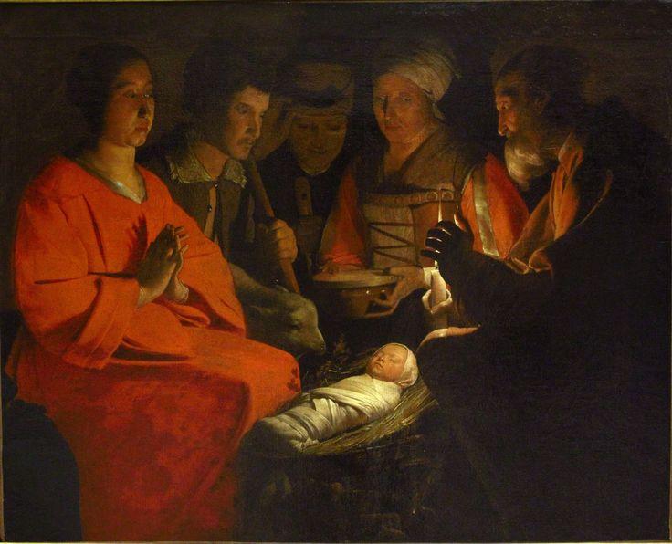 File:L'adoration des bergers (La Tour).jpg