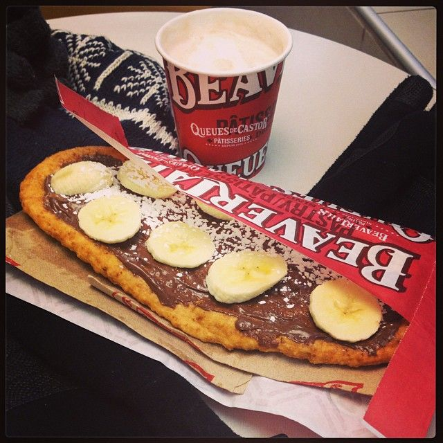 Prescription for a cold day - one hot and tasty BeaverTails pastry combined with a decadent hot chocolate. Repeat as necessary :) Instagram photo by @housdini (housdini)