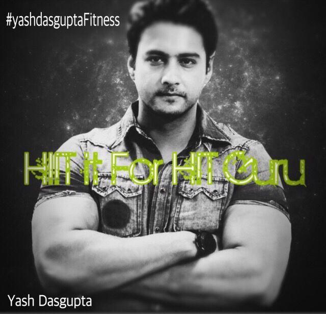 HIIT it for that HIT Guru..  Yash Dasgupta inspiring people joining the fitness bandwagon….
