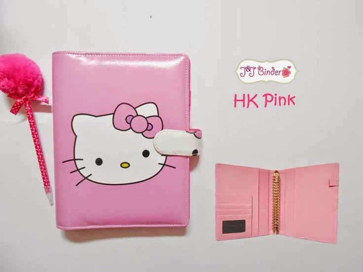 Nama  Produk : Binder Hk Pink Ukuran   :A5 20ring : 60rb, B5 26 ring : 70rb Bahan  : Kulit Sintetis Deskripsi : 3 slot kartu, 1 slot foto 1 Slot pulpen