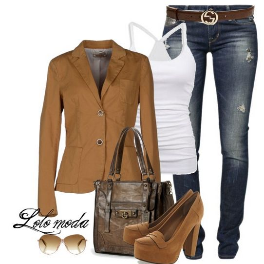 Met Chino & Friends #Blazer, See more info. about this outfit here: http://lolomoda.com/smart-casual-fashion-for-women/