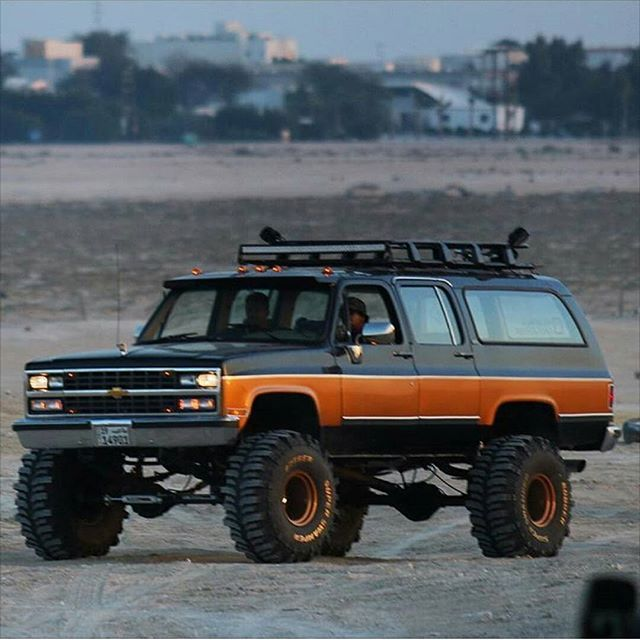 Image result for square body suburban
