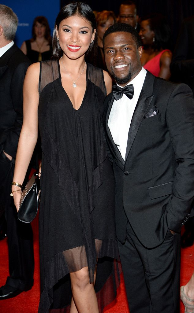 The 34-year-old actor-comedian took his model girlfriend to the annual Washington dinner.