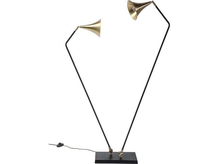 Lampa Podłogowa Trumpet II — Lampy podłogowe Kare Design — sfmeble.pl