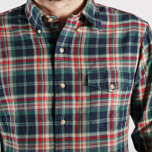 Plaid, it's definitely what you should wear, time to go shopping..