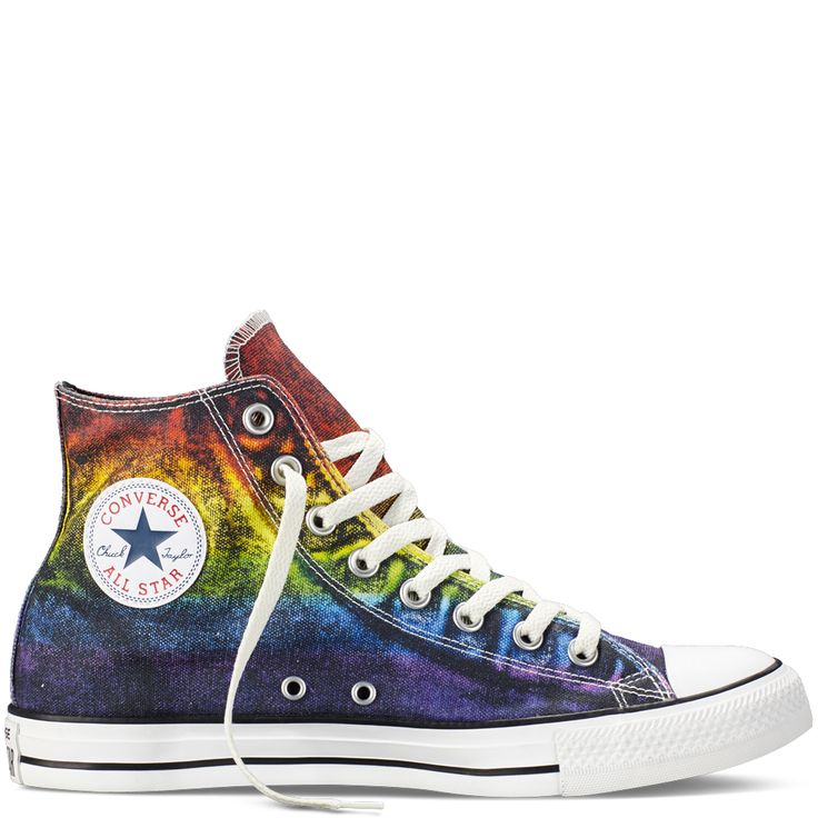 Converse - Chuck Taylor All Star Pride - Red/Yellow/Purple - Hi Top