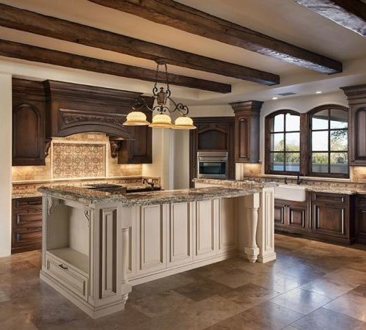 KitchenCeilings Beams, Dreams Kitchens, Cabinets Colors, Paradis Valley, Dreams House, Kitchens Ideas, Wood Ceilings, Luxury Living, Wood Beams