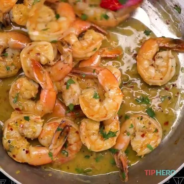 The Easiest Shrimp Scampi Recipe You'll Ever Find