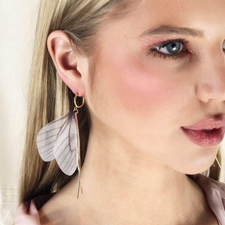 Heavenly  // @brigmurphy wearing the @bubish_luxe 'Butterfly Glade' earrings  www.bubishluxe.com #bubish