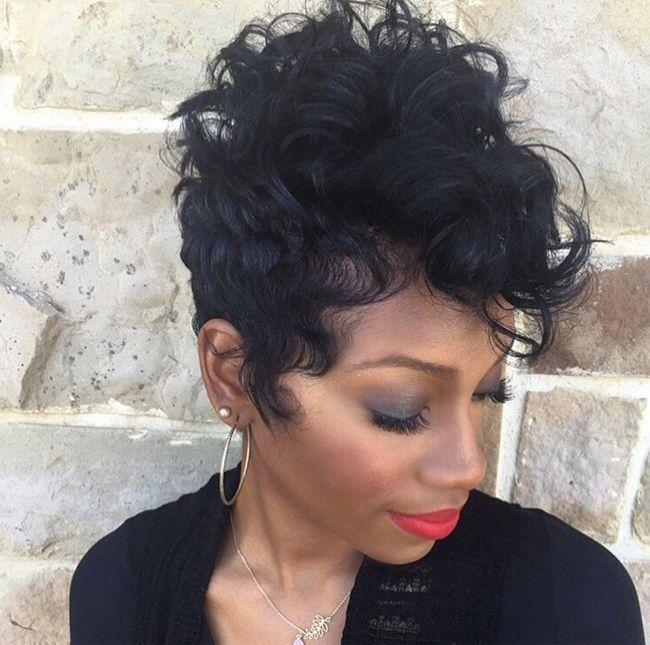 Short Hairstyles Black Hair black womens short hairstyle Black Short Hairstyles For Black Women 2016