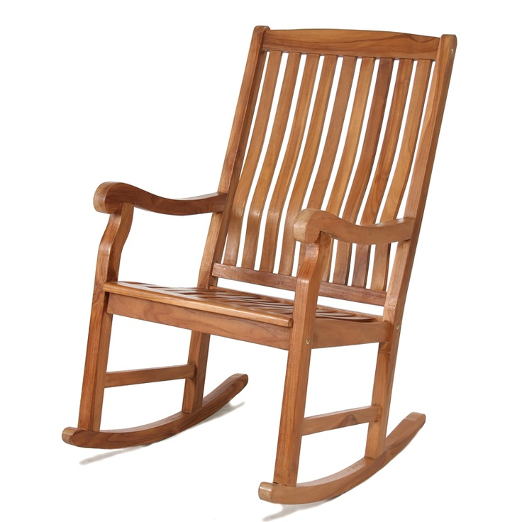 I love these wide curved back rocking chairs patio