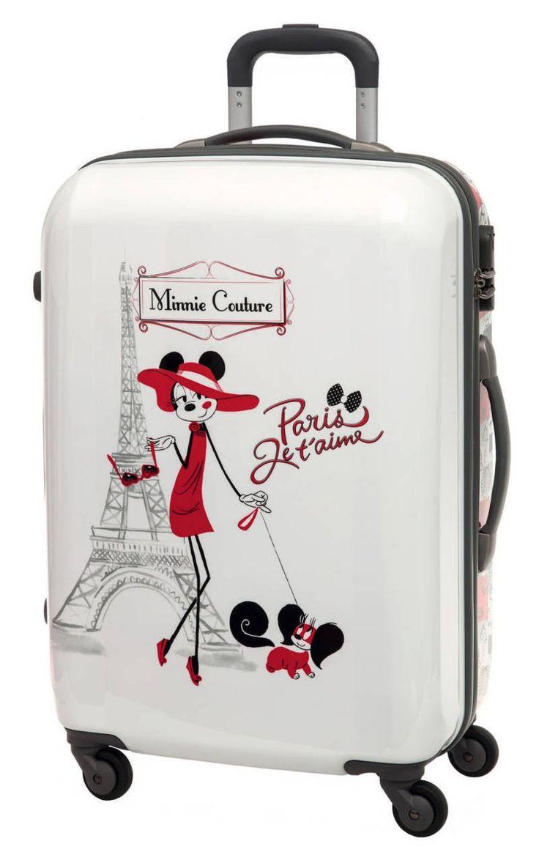 maleta disney elegante y bonita una maleta que no deja indiferente a nadie