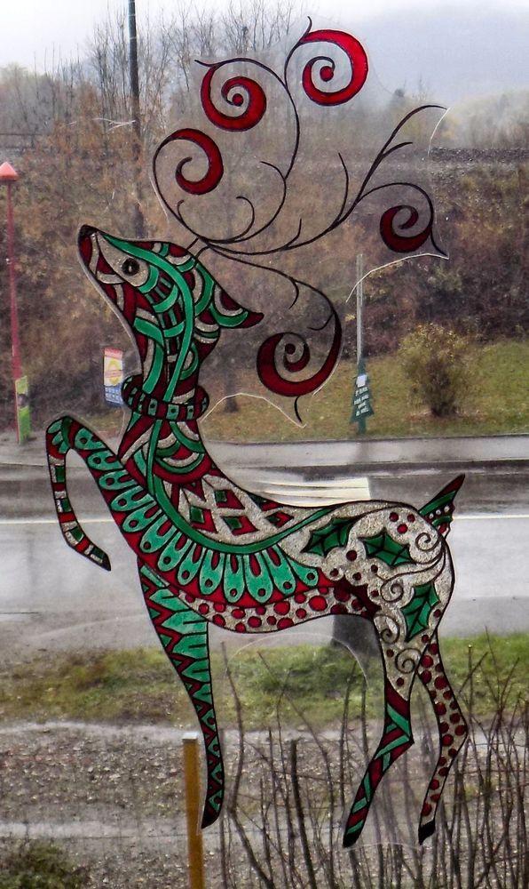 Les 45 meilleures images du tableau peinture sur verre - Peindre sur une vitre ...