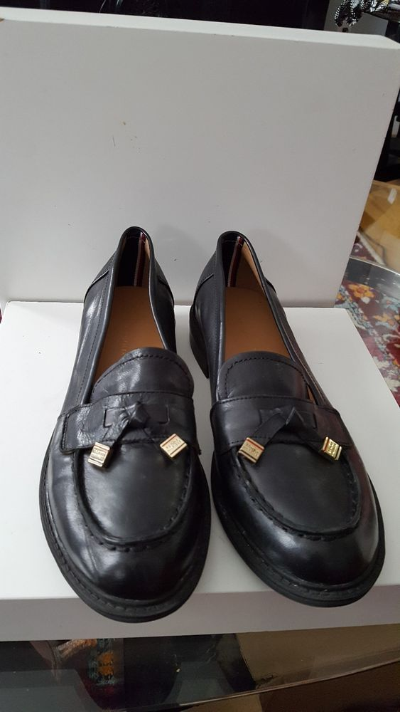 e588bb9c1 Women s Black Tommy Hilfiger Loafer 7.5  fashion  clothing  shoes   accessories  womensshoes  flats (ebay link)