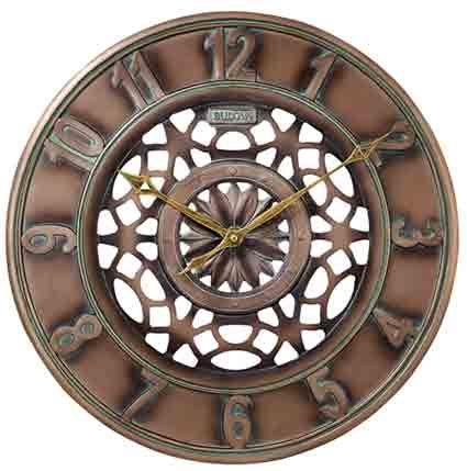 Bulova C4853 Gardener Large Indoor - Outdoor Wall Clock