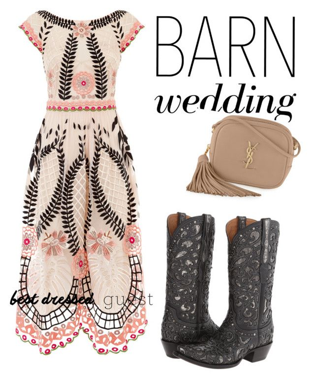 52 best country chic attire images on pinterest barn for Country dresses for wedding guest