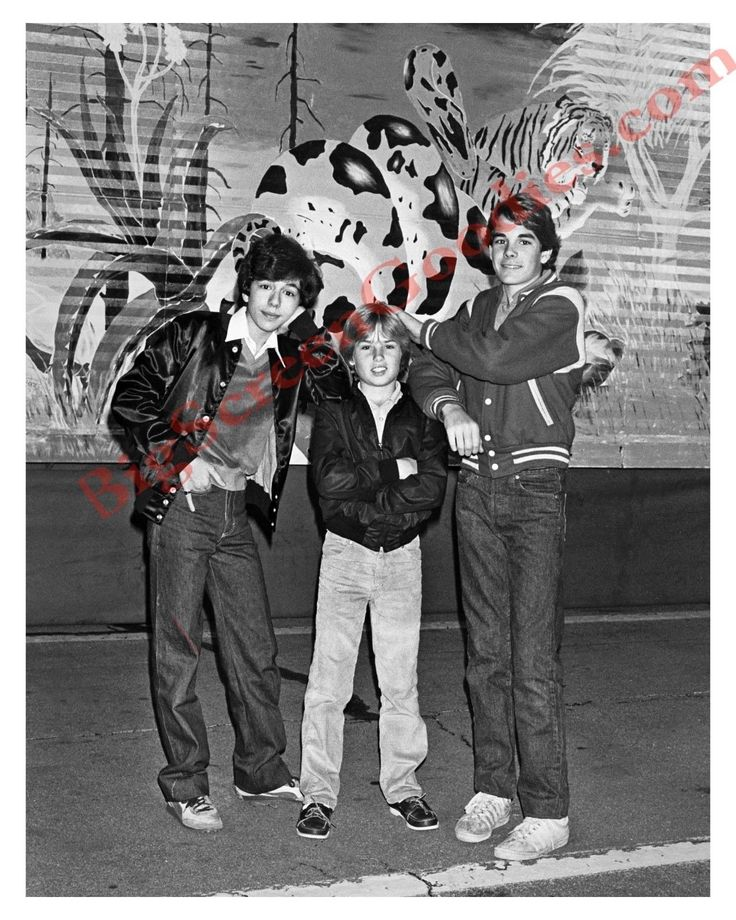 MARC BENTLEY, GLENN SCARPELLI & PAUL KING - TEEN-POWER FROM 1983 - 8X10 PHOTO | eBay