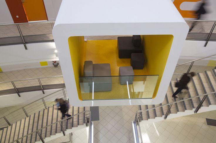 *코워킹 박스 [ NBJ Architectes ] GIPES – Institut de Formation des Professionnels de la Santé, Avignon, France :: 5osA: [오사]