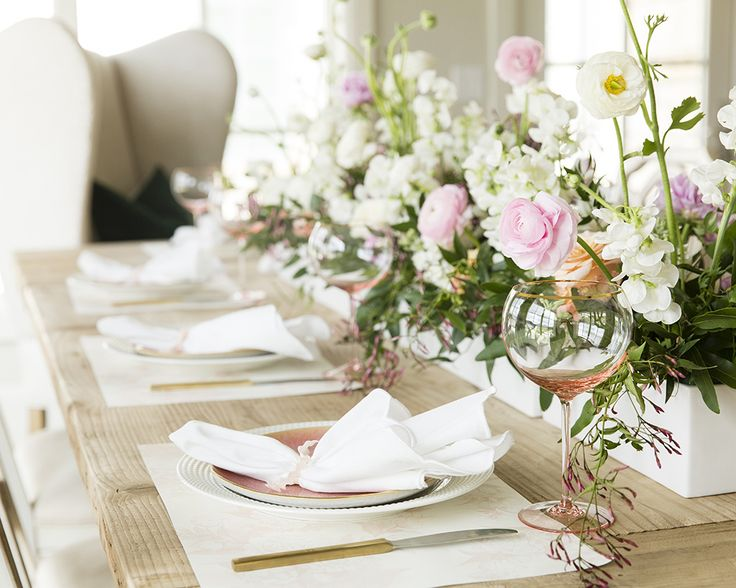 My House: Easter Tablescape
