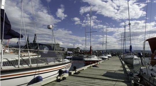 Marina Le Havre Polyvalent de Sainte-Anne-des-Monts, Haute-Gaspésie.