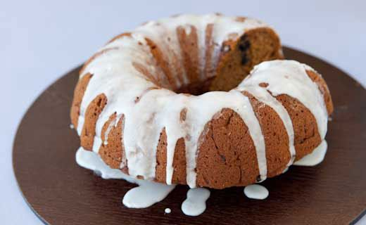 Epicure's Hot Buttered Rum Squash Cake