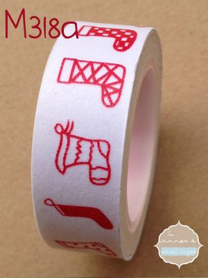 Washi Tape Calcetines