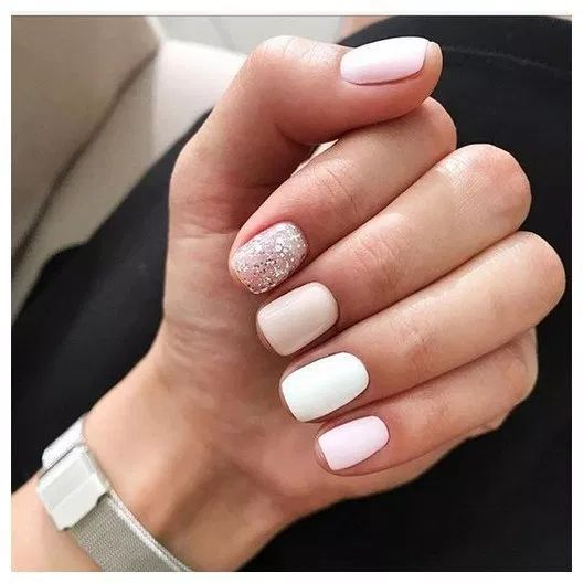 125 trendy stunning manicure ideas for short acrylic nails design 00030 | Armawe...