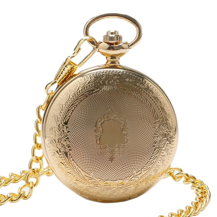 12.99$  Watch here - http://ali9m5.shopchina.info/go.php?t=32793475125 - Luxury Gift Gold Pocket watch Vintage Pendant Watch Necklace Chain Fob Watches Roman Number Clock Pocket Relogio bolso  #buyininternet