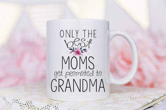 New Grandma Mug New Grandma Grandma Mug Grandma Gift by Mugsby