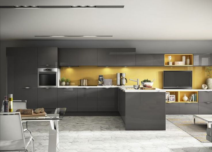 Best The 25 Best Grey Yellow Kitchen Ideas On Pinterest Grey 640 x 480