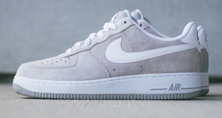 "NIKE AIR FORCE 1 LOW ""WOLF GREY"""